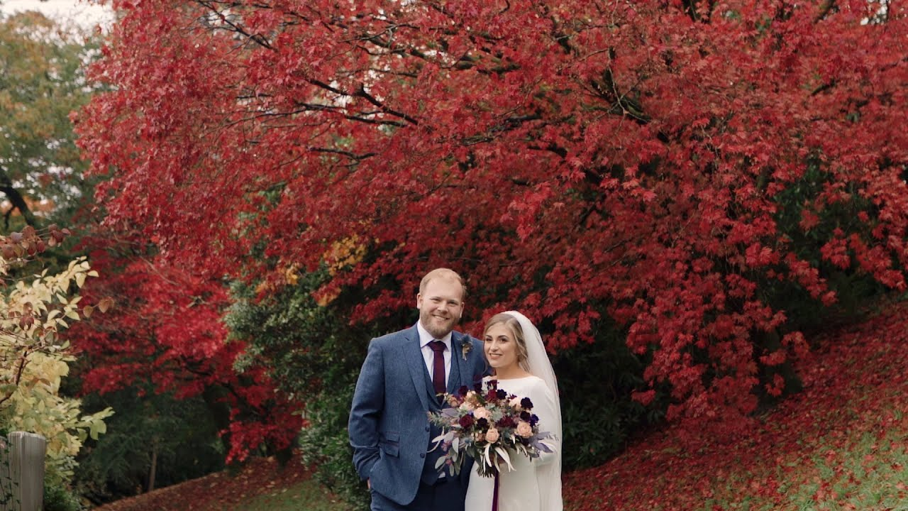 HOTEL ENDSLEIGH, Devon | Documentary wedding videography UK | Autumn wedding | Charlotte Dart