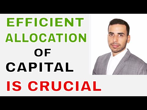 EFFICIENT ALLOCATION OF CAPITAL -  value invest learn india - investing indian stock market