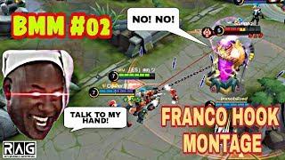 FRANCO HOOKS [BEST MOMENT MONTAGE #02] - MOBILE LEGENDS 2019