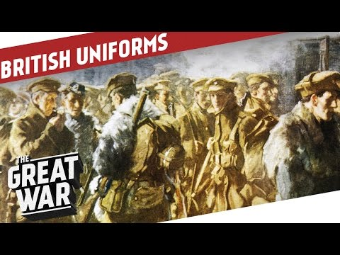The British Uniforms of World War 1 I THE GREAT WAR Special