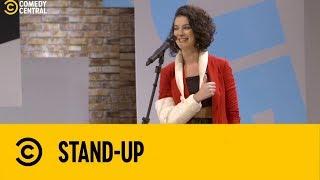 Giovana Fagundes no carro com os MALOQUEIROS | Stand Up no Comedy Central