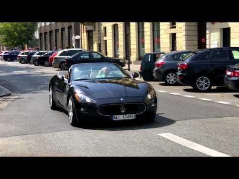 Maserati GranCabrio Sound In Warsaw