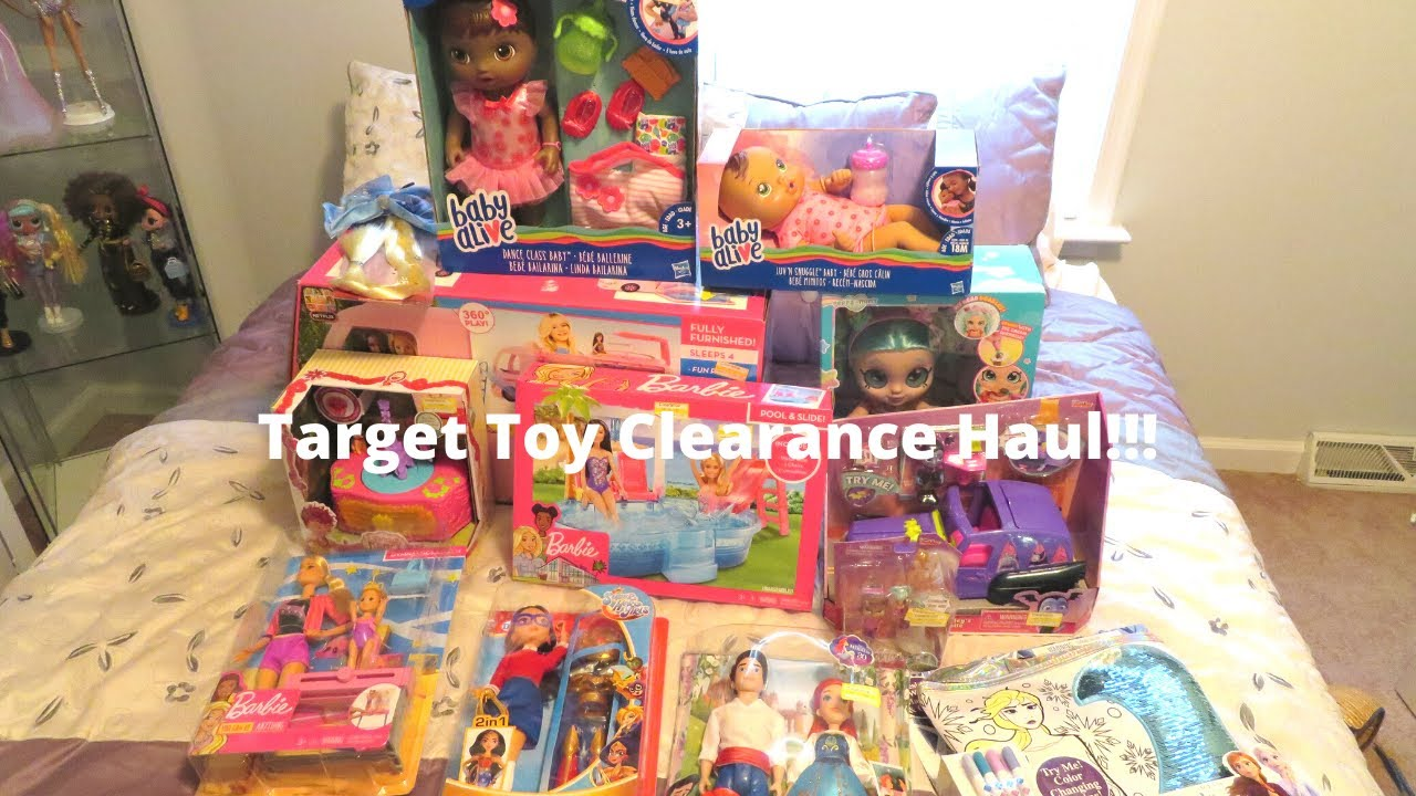 Target Toy Clearance Haul