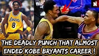 The Deadly Punch That Almost Ended Kobe Bryant's Career!