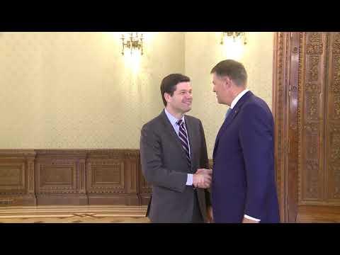 STIRIPESURSE.RO Iohannis il primeste pe Wess Mitchell, asistentul secretarului de stat al SUA