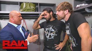 Dean Ambrose and Seth Rollins unite: Raw, July 17, 2017
