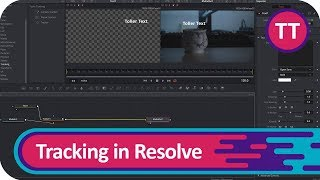 Text Tracking in Fusion/Resolve 15 | Tutorial  [Deutsch/German]