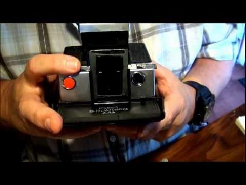 ND filter on a Polaroid SX-70