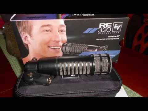 """ElectroVoice RE320 Dynamic """"Radio"""" Microphone Review And Test"""