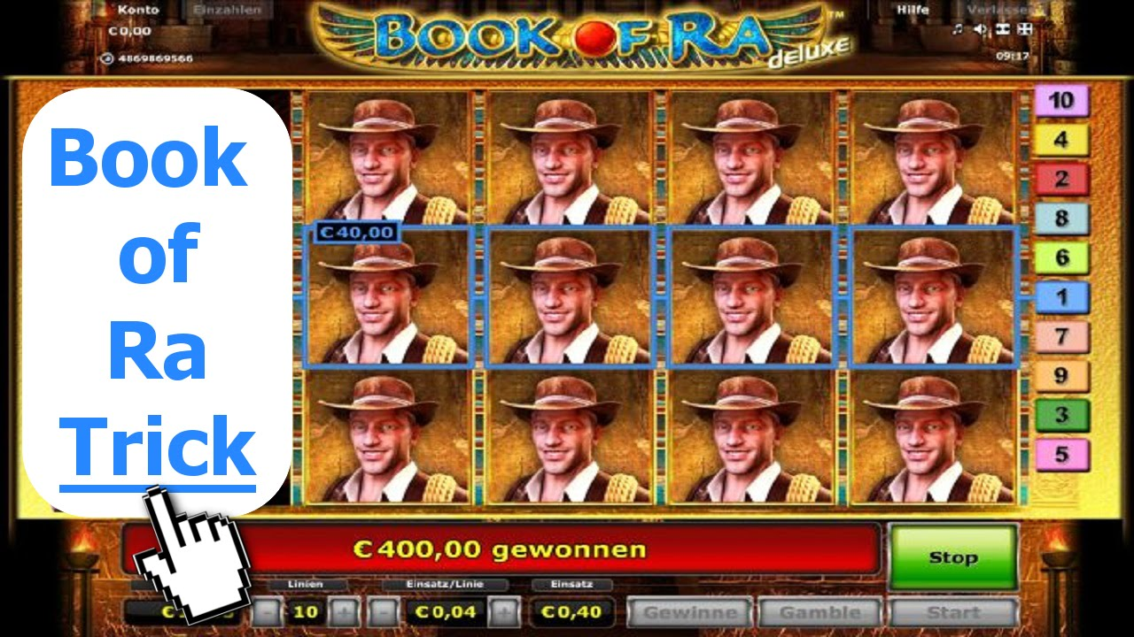 book of ra tricks casino
