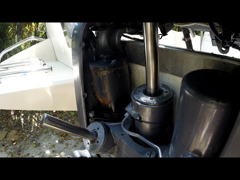 Yamaha Outboard Trim Tilt Motor Replacement