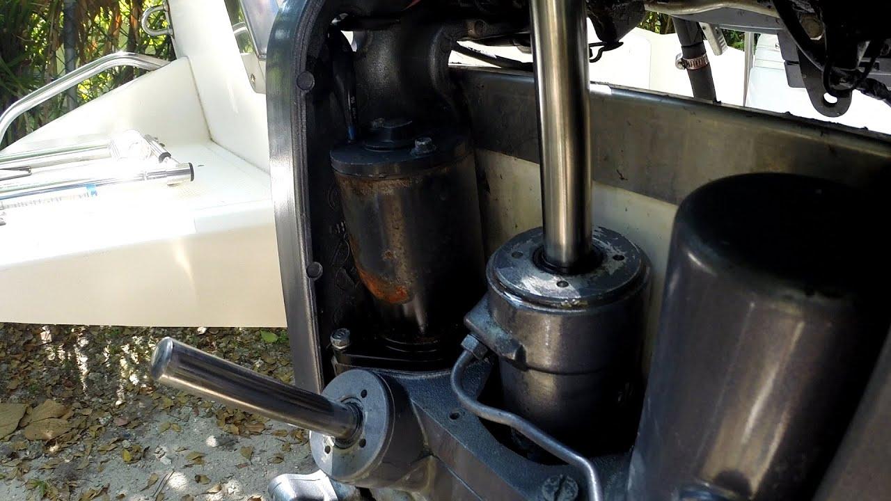 yamaha outboard trim tilt motor replacement [ 1920 x 1080 Pixel ]