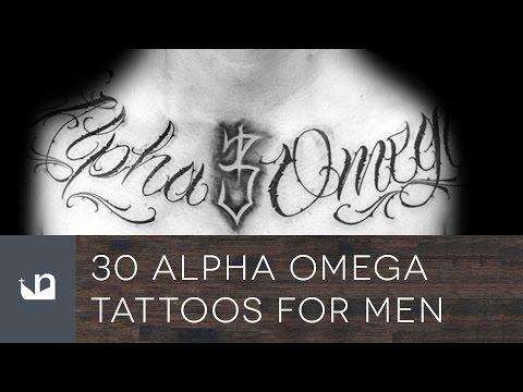 30 Alpha Omega Tattoos For Men