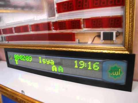 Jam Sholat JWS-06R