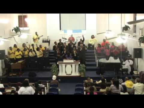 """Ebenezer BC Mass Choir sings """"Our Father you are Holy"""""""