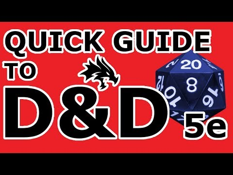 (ANIMATED) Pocket Guide to D&D 5e