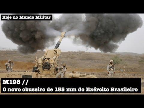 M198, o novo obuseiro de 155 mm do Exército Brasileiro