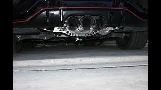 borla exhaust on type r fk8 youtube