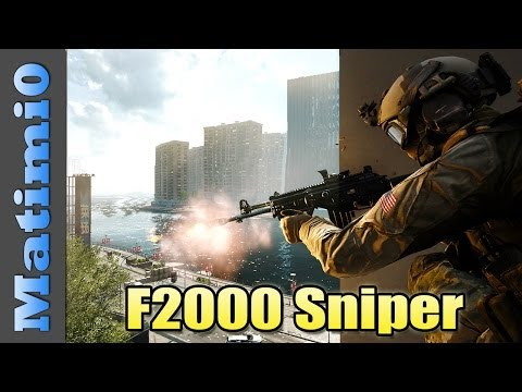F2000 Sniper - Terrible Weapon Challenge - Battlefield 4