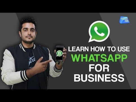 Learn How To Use Whatsapp Business App | Tech Tak
