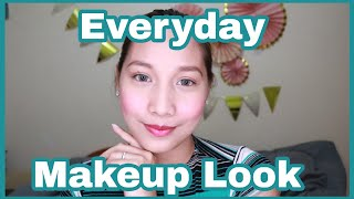 Everyday Makeup Look and tips | For Working Girls | ⚠️ Madaldal 🤣 | Philippines