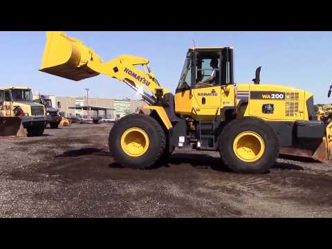 Komatsu WA200-5 At AIS Construction Equipment