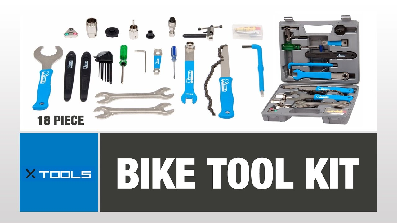 292f199a1b1 X-Tools Bike Tool Kit - 18 Piece - YouTube