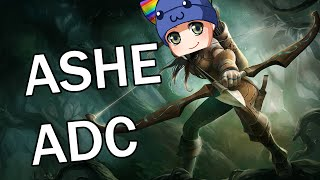League of Legends - Ashe ADC - Full Gameplay Commentary