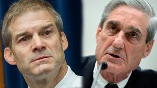 Jim Jordan Meets Robert Mueller and He's PISSED!!!!