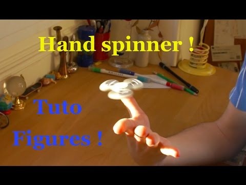 Hand Spinner - Nouvelles Figures : Tuto Fidget spinner !!