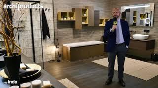 Salone Internazionale del Bagno 2018 | INDA - Denis Venturato presenta