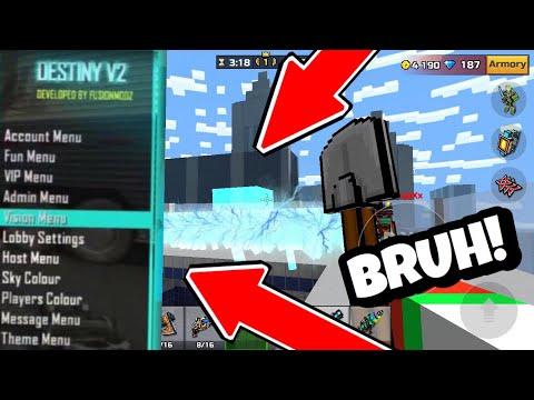 Pixel Gun 3D| AUTOSKILLZ MOD MENU USER CAUGHT ( 15.2.2) SO ANNOYING! *OMG*