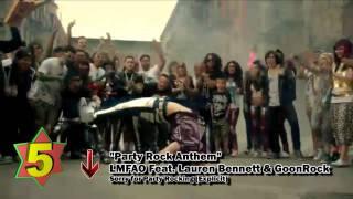 Top 10 Songs - Week Of October 15, 2011