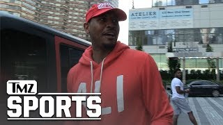 Carmelo Anthony On Coming Off Rockets' Bench, Slow That Talk Down! | TMZ Sports