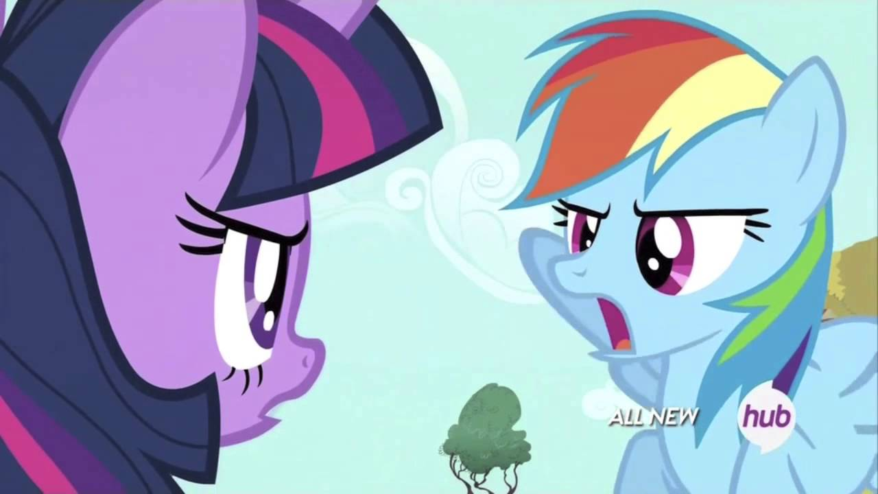 - Twilight Sparkle And Rainbow Dash Arguing - YouTube