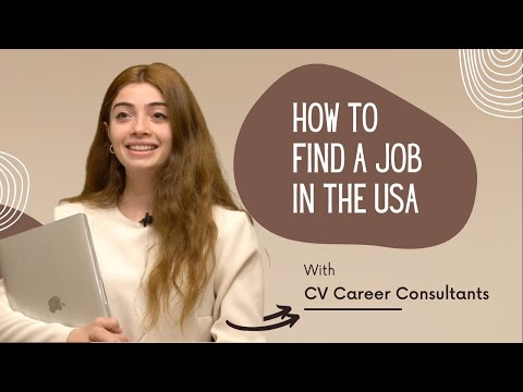 How to get a job in the USA | Career coach gives advice