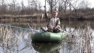 первая весенняя рыбалка с лодки 2020 9 марта