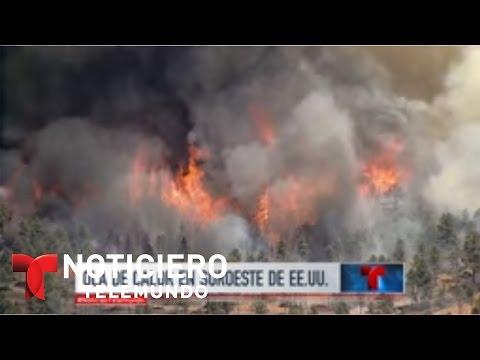 Alerta por infernal ola de Calor en el suroeste de EEUU | Noticiero | Noticias Telemundo