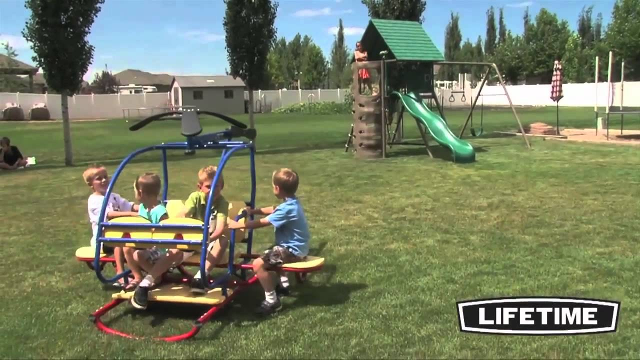 Lifetime 90045 Helicopter, Teeter-Totter Review