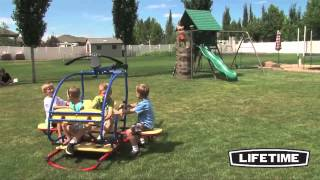 Lifetime 90045 Helicopter, Teeter-totter Review - Epic Swingsets