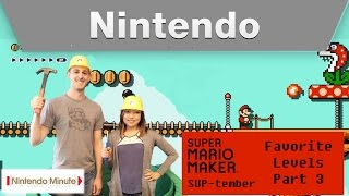 Nintendo Minute – Super Mario Maker SUP-tember Favorite Levels Part 3