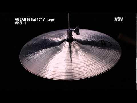 "15"" Hi Hat Vintage video"