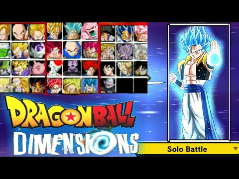 New APK Mod Dragon Ball Dimensions For Android Download  #Smartphone #Android