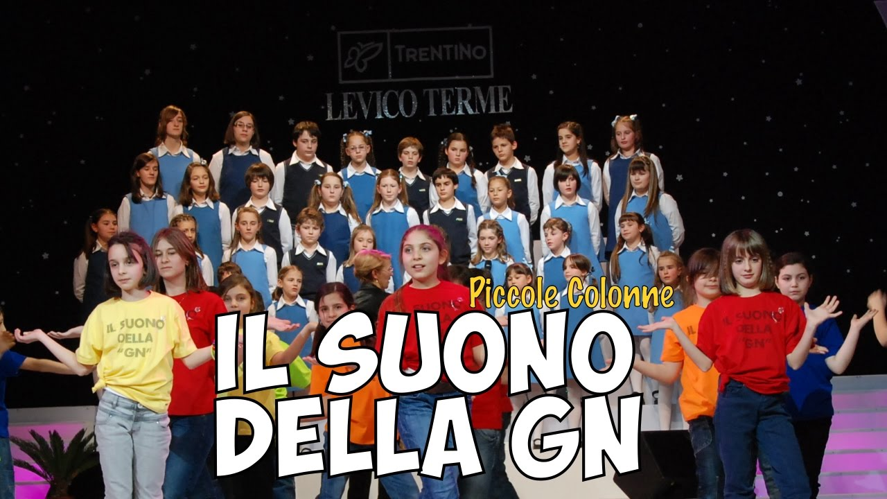 Il Suono Della Gn Canzoni Per Bambini Della Scuola Elementare