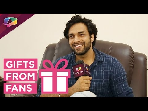 Shaleen Malhotra receives gifts from his fans