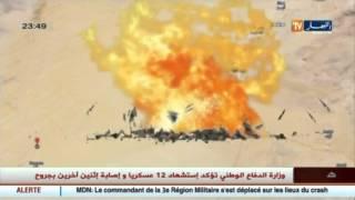 وزارة الدفاع : استشهاد 12 عسكريا وجرح اثنين في سقوط حوامة نقل جند قرب رقان