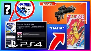 PS4 PLUS! BUNDLE NEW EDITION OF THE BANNER OF THE SKINS? NEW WEAPON! | Fortnite