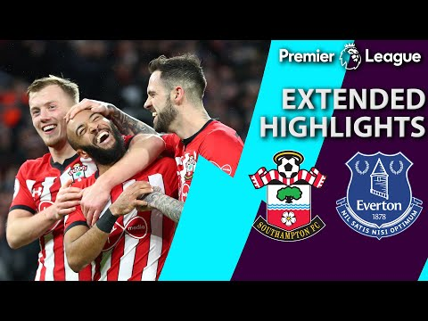 Southampton V. Everton   PREMIER LEAGUE EXTENDED HIGHLIGHTS   1/19/19   NBC Sports