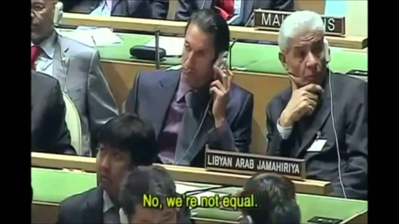 The illuminati Exposed By Muammar Gaddafi
