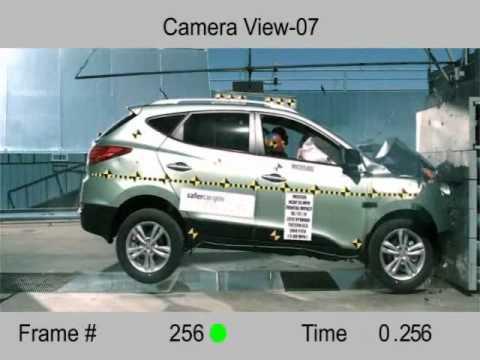 Crash Test 2012 Hyundai Tucson IX35 5dr. MPV Full Frontal NHTSA